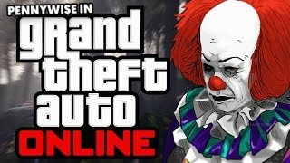 STEPHEN KING'S IT CLOWN VOICE TROLLING ON GTA ONLINE!