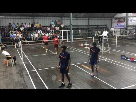 Cochin Kerela State Match Finals | Badminton Men Doubles