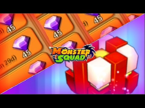 MONSTER SQUAD - 3X GEMS, RED CUBE AND MORE!