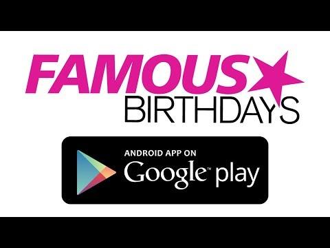 Famous Birthdays - AppRecs