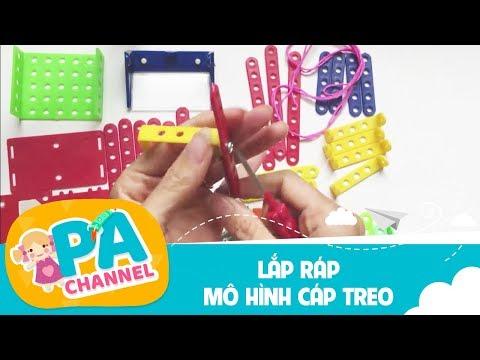 KỸ THUẬT LỚP 4 - HƯỚNG DẪN LẮP RÁP MÔ HÌNH CÁP TREO - LEGO GAME TRÒ CHƠI LẮP RÁP