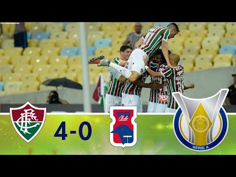 Melhores Momentos - Fluminense 4 x 0 Paraná - Campeonato Brasileiro (08/10/2018)