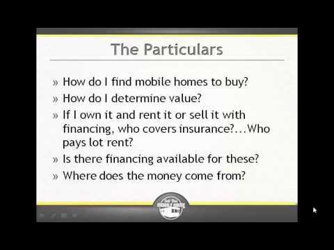 How Do I Determine Mobile Home Value?