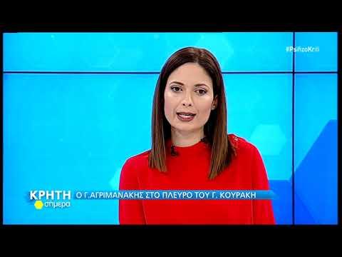 Εκλογές Κρήτη Σήμερα:  Γιώργος Αγριμάκης