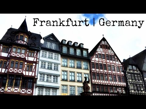 Frankfurt Germany | Travel Vlog Montage 2016
