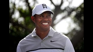 Tiger Woods overcomes concession stands at 12th hole of Honda Classic