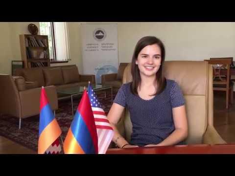 MEET MEGAN JAKOB -- AAA 2019 Summer Intern In Armenia!
