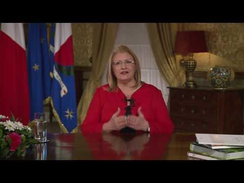 Messaġġ mill-Presdident ta' Malta Marie-Louise Coleiro Preca fl-okkażjoni ta' Jum il-Mara 2017