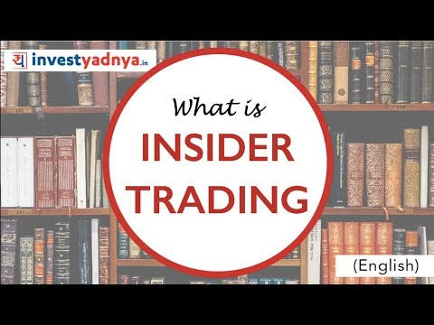 What is Insider Trading in Stock Markets? | Legal vs Illegal Insider Trading