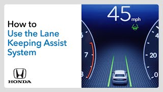 homepage tile video photo for How to Use the Lane Keeping Assist System (LKAS)