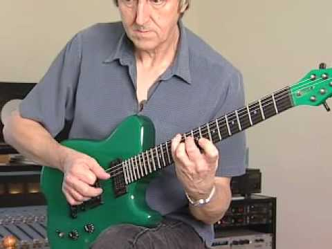 Allan Holdsworth talks about his Signature Carvin Guitar and Plays