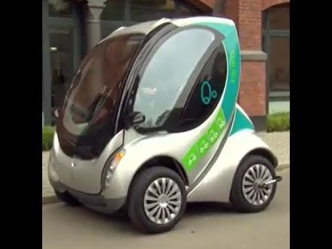 Hiriko -  Folding electric car