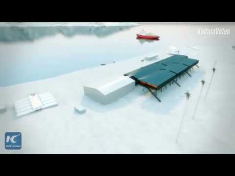 Chinese firm rebuilds research station for Brazil in Antarctica
