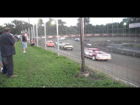 7.18.15----Peoria Speedway---Street Stock Feature