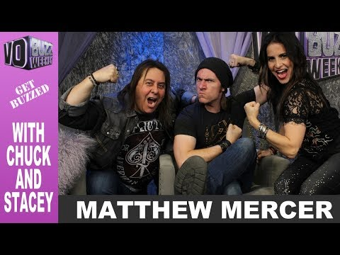 Matthew Mercer PT2 - Dungeons & Dragons Game Master In Critical Role | Geek And Sundry