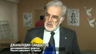 Профессор медицины Д.Саидбегов провел встречу в Национальной библиотеке