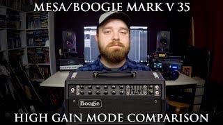 Mesa/Boogie Mark V 35: high gain mode comparison!