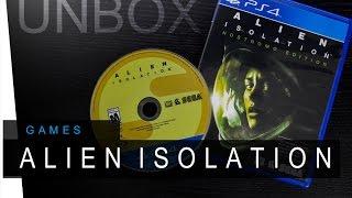 Alien Isolation : Nostromo Edition PS4 - Unboxing