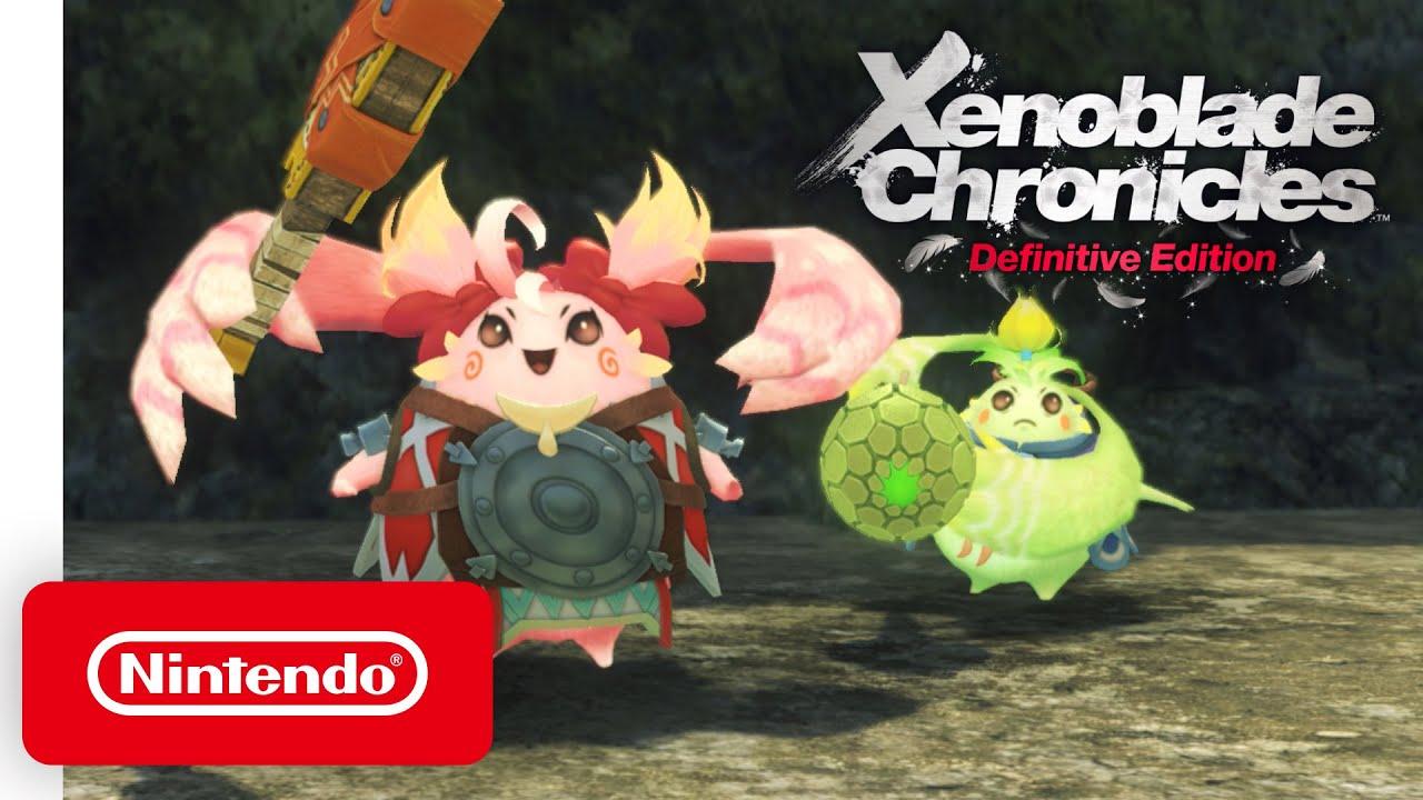Γνωρίστε Nene & Kino του Xenoblade Chronicles: Definitive Edition