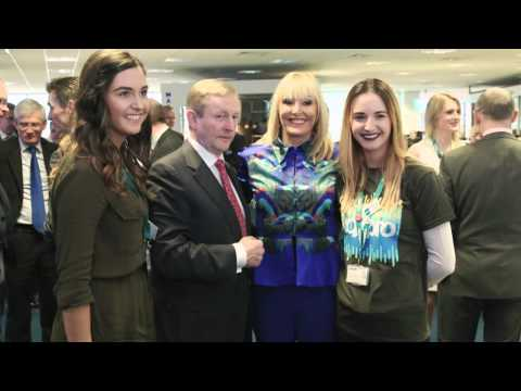An Taoiseach Enda Kenny Visits Voxpro To Announce 400 Jobs!