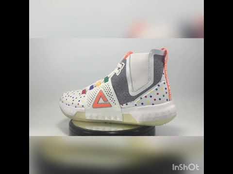 Sepatu Basket PEAK Dwight Howard III White Original 100% - YouTube e674ef0f52