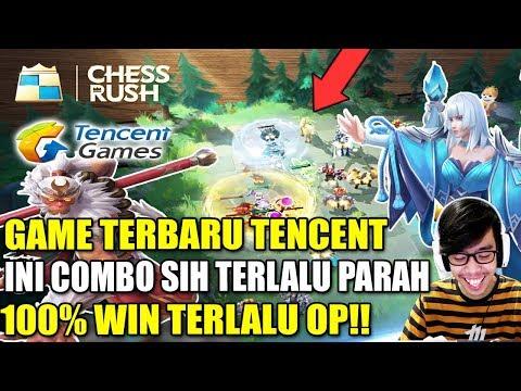 GAME YANG LAGI VIRAL - TENCENT CHESS RUSH INDONESIA GAMEPLAY
