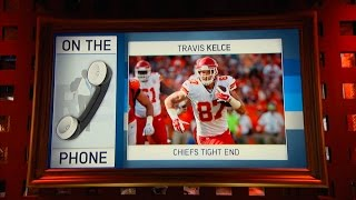 Kansas City Chiefs Pro Bowl TE Travis Kelce Dials in to The RE Show - 11/15/16