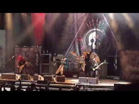 ARCH ENEMY - You Will Know My Name, live @ Metalfest, Plzeň 5.6.2015