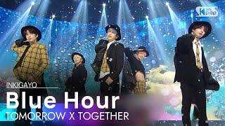 Download TXT(투모로우바이투게더) - Blue Hour(5시 53분의 하늘에서 발견한 너와 나) @인기가요 inkigayo 20201108