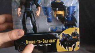 Toy Spot - Mattel The Batman Bruce to Batman Figure