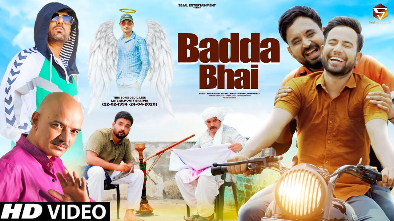 DOWNLOAD: BADDA BHAI (Official Video) Venu Gaur | Deepak Sharma | Ameet Choudhary | New Haryanvi Song 2021 Mp4 song