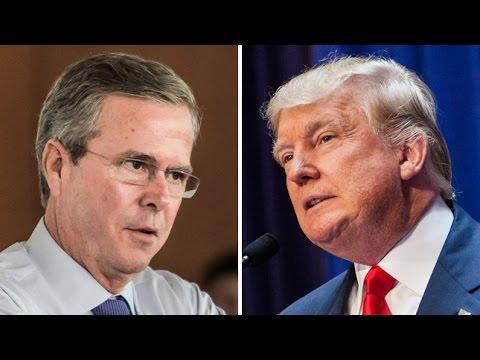 Jeb Bush Refuses To Vote Trump And Republicans Are MAD