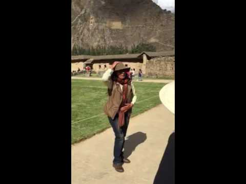 Tour guide in Peru