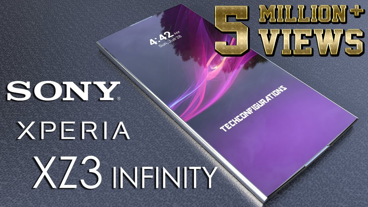 sony xperia xz3 infinity introduction concept our dream xperia