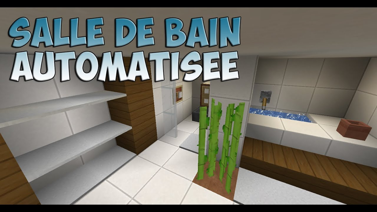 astuces deco salle de bain automatis e minecraft 1 8 fr hd youtube. Black Bedroom Furniture Sets. Home Design Ideas