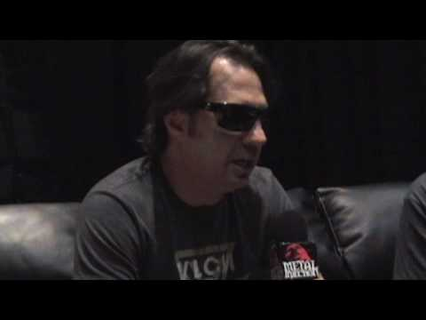 Dave Lombardo of SLAYER Interview at Mayhem Fest 2009 on Metal Injection (also discussed FANTOMAS)