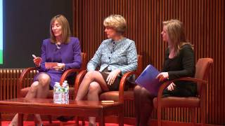 Women's Leadership Summit on the Business of Social Media panel discussion