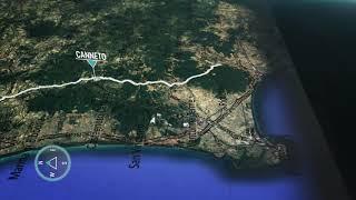 Tirreno-adriatico eolo 2020 | stage 2 the route
