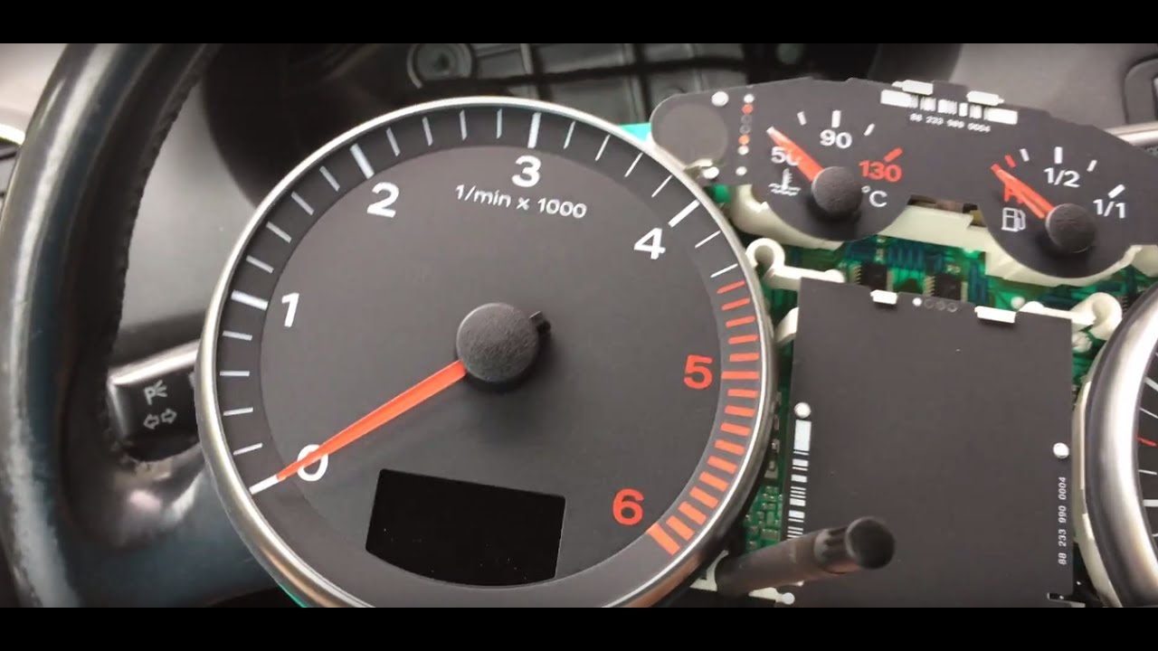 Audi A3 8p Instrument Cluster Problems    Odometer Fault