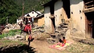 Landscape of Kulling, Chamoli, Uttarakhand