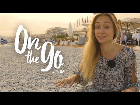 Maria explores Nice, France – On the go with EF #44
