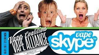 VA Live : Vape Skype. Вещаем с Iphone X.