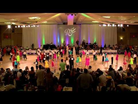 2012 Desert Classic Chicken Dance Championships - Kids Ballroom Dance Video