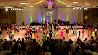 2012 Desert Classic Chicken Dance Championships - Kids Ballroom Dance Video