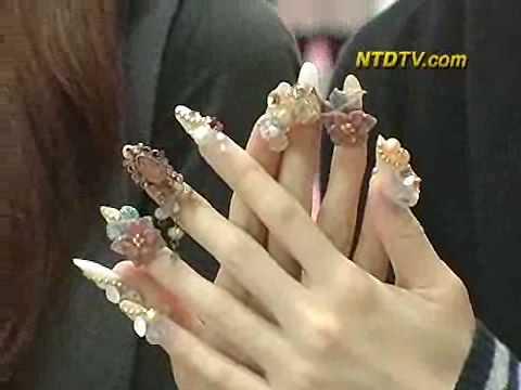 Glamorous Tokyo Nails