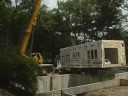 Modular Home Being Constructed