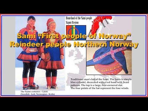 """Sami """"First people of Norway"""" Reindeer people of Northern Norway"""