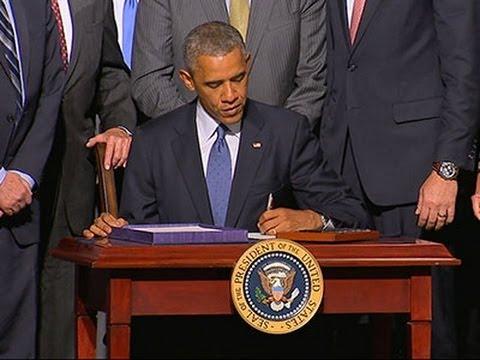 Obama: 16.3 Billion VA Bill 'A Step Forward'