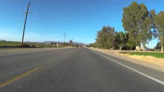 Highway 78 north to Interstate 10, Blythe, California, then US Route 95 toward Vidal, CA, GOPR7928