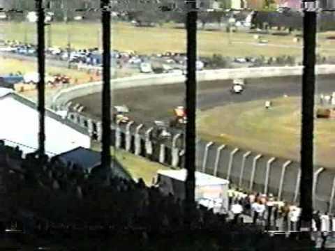 USA SPRINTS- 1989 HUTCHINSON, KS pt 1-hot laps, time trials
